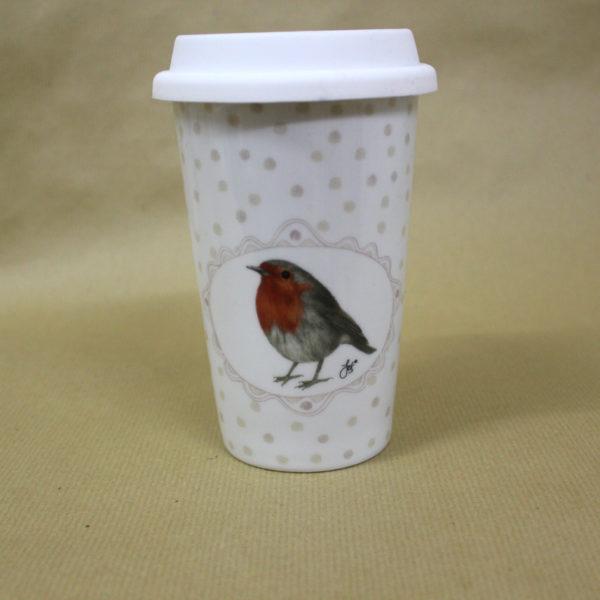 tea to go becher robin 0 4l tea and. Black Bedroom Furniture Sets. Home Design Ideas