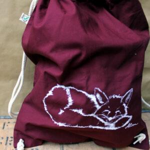 Fuchs Turnbeutel burgundy