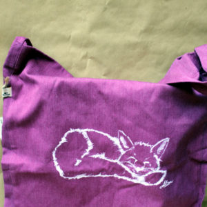Tasche Fuchs melange plum