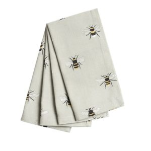 bee napkins