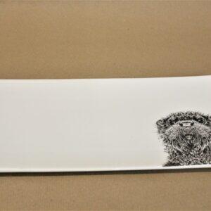 otter servierplatte