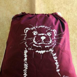 Turnbeutel-Otter-burgundy