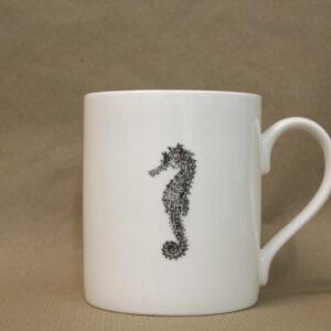 seahorse becher