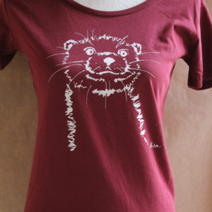 Girls Otter burgundy