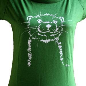 Girls Otter leaf green