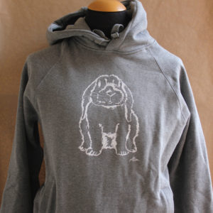 Hoodie Archie light heather