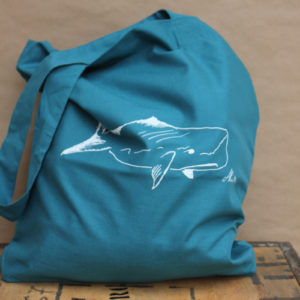 Tasche Wal sea green