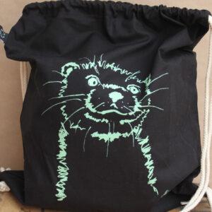 Turnbeutel Otter black