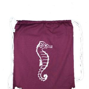 turnbeutel Seahorse burgundy