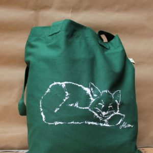 Tasche Fuchs bottle green