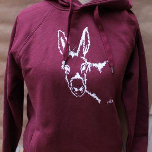 hoodie emil burgundy