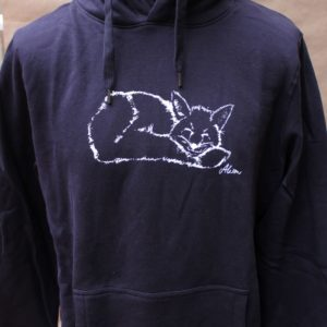 hoodie fuchs navy