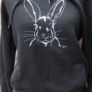 hoodie miss sophie black