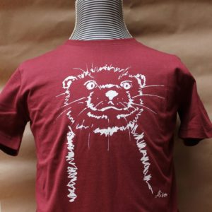 kids otter burgundy