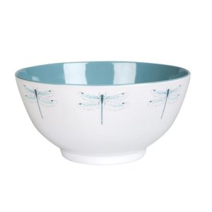 dragon fly melamine bowl