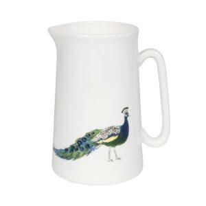 peacock mini jug