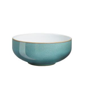 azure cereal bowl