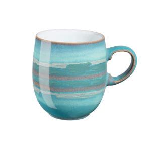 azure coast large curve mug