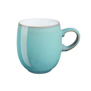 azure lager mug