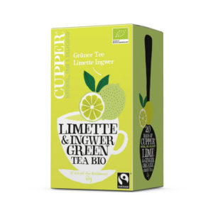 cupper organic lime green