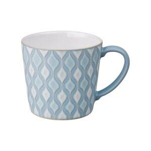 impression blue hourglass large mug