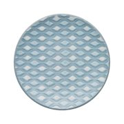 impression blue hourglass small plate