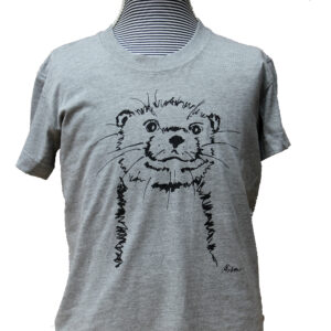 otter melange grey